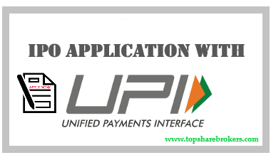 Applying in online IPOs using UPI