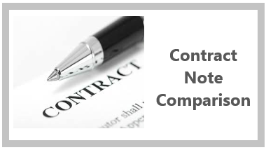 Contract Note Comparison