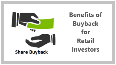 How can Retail Investor get benefit from Buyback