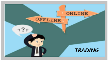Online Trading vs Offline Trading in India