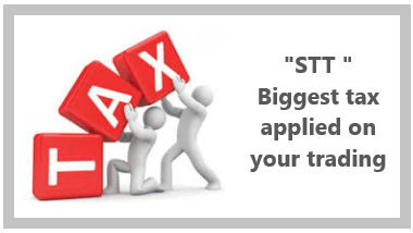 Securities Transaction Tax (STT) - the biggest tax applied on your trading