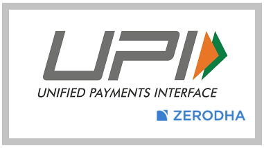 Zerodha Fund Transfer via UPI