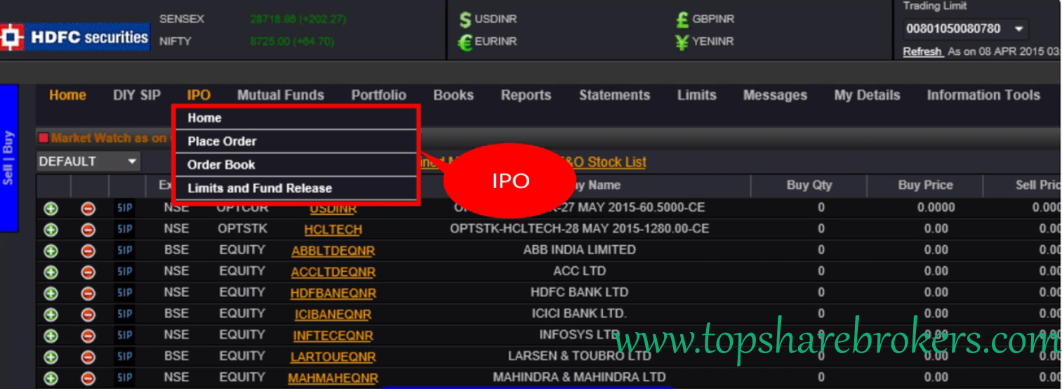 Ipo brokerage charges hdfc securities