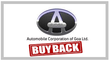 Automobile Corporation of Goa Buyback offer