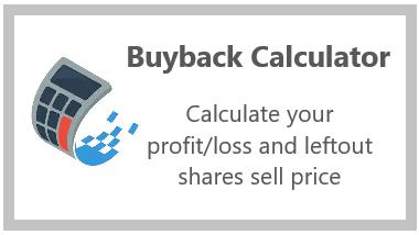 Buyback Calculator