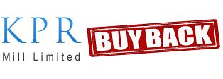 KPR Mill Buyback offer