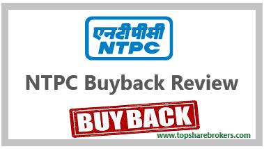 NTPC Ltd Buyback offer