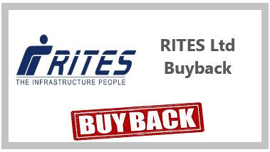 RITES Ltd Buyback offer
