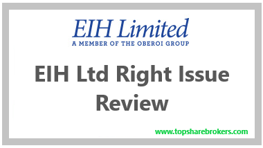 EIH Ltd Right Issue Review
