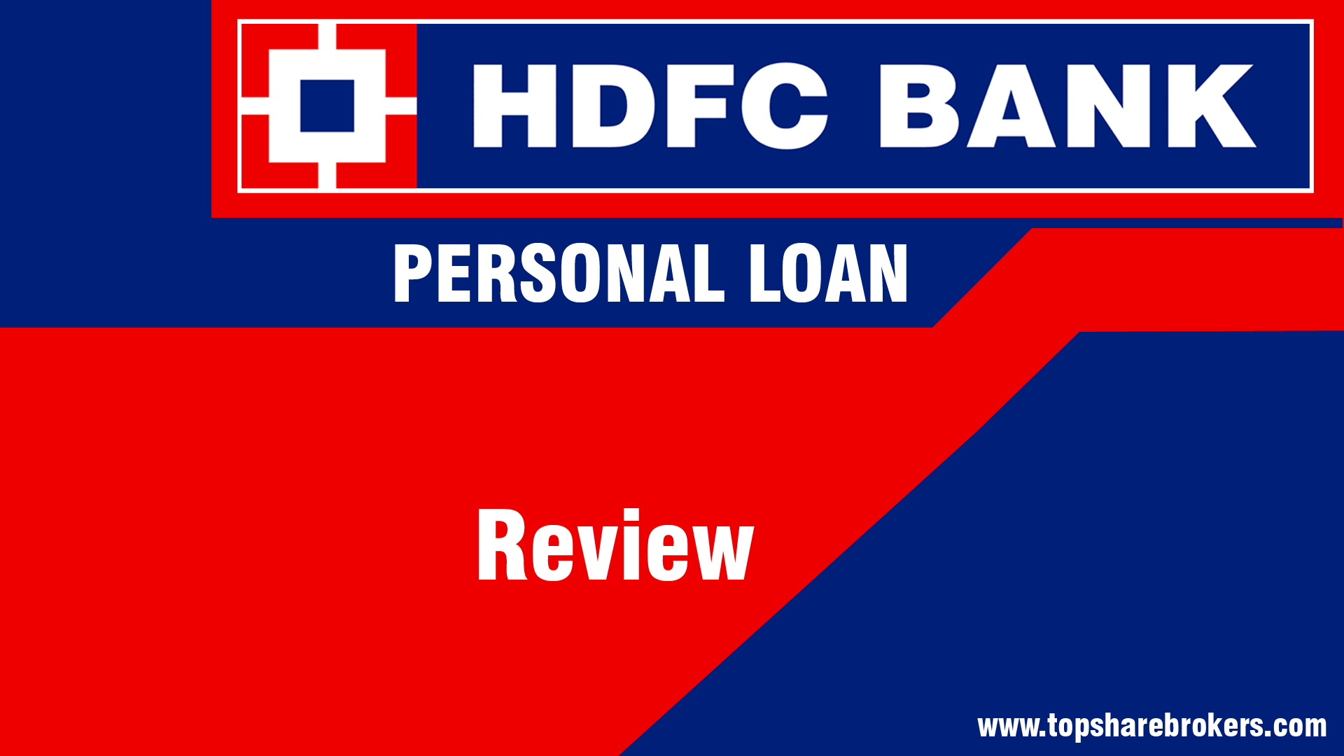 Instant Hdfc Bank Personal Loan 10 75 P A