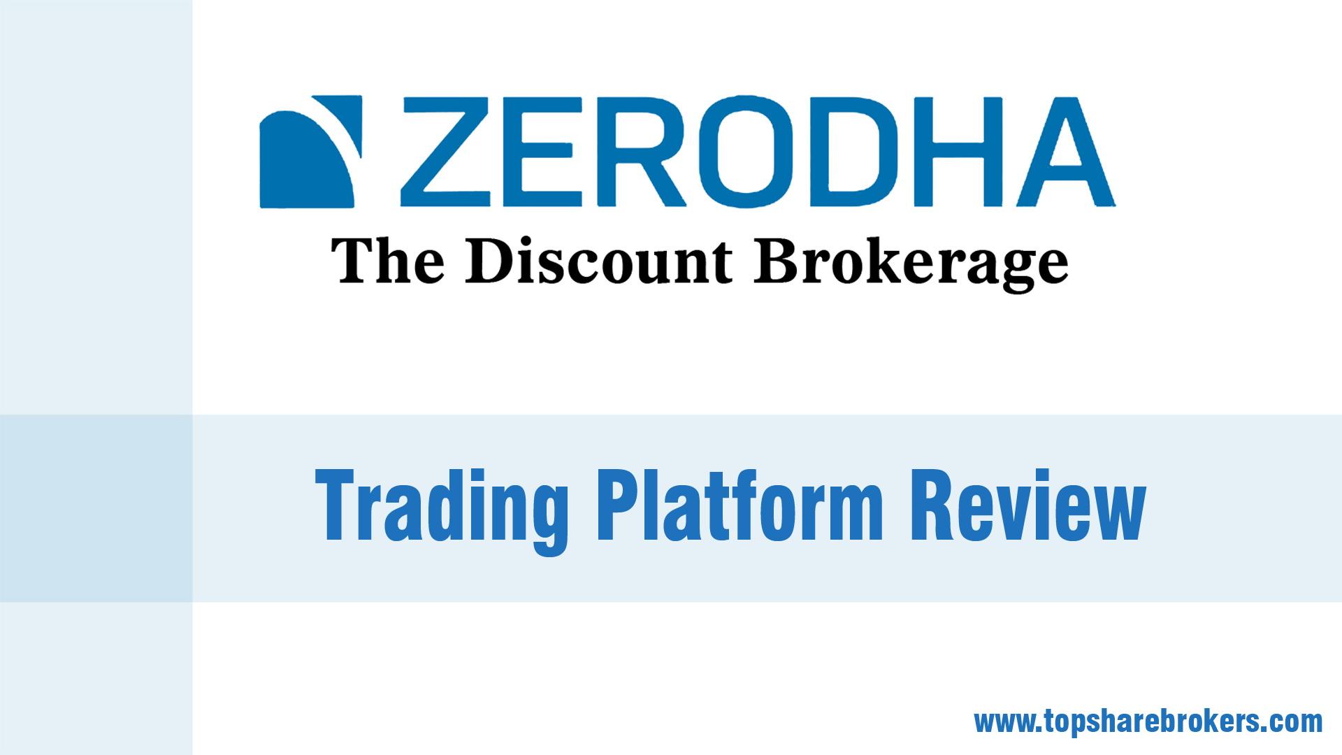 Does Zerodha provide forex trading? - Quora