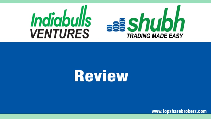 Indiabulls Ventures Limited Review