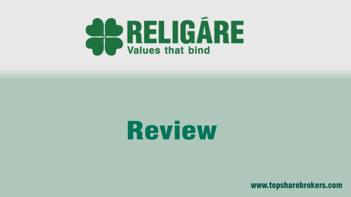 Religare securities Limited Review